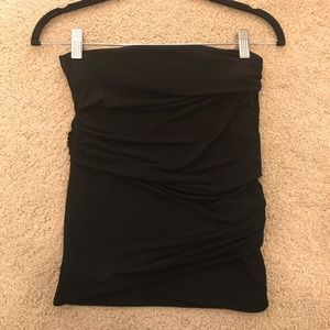 BCBGeneration Ruched Strapless Top